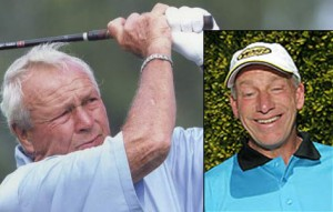 Arnold Palmer and Tom Sullivan
