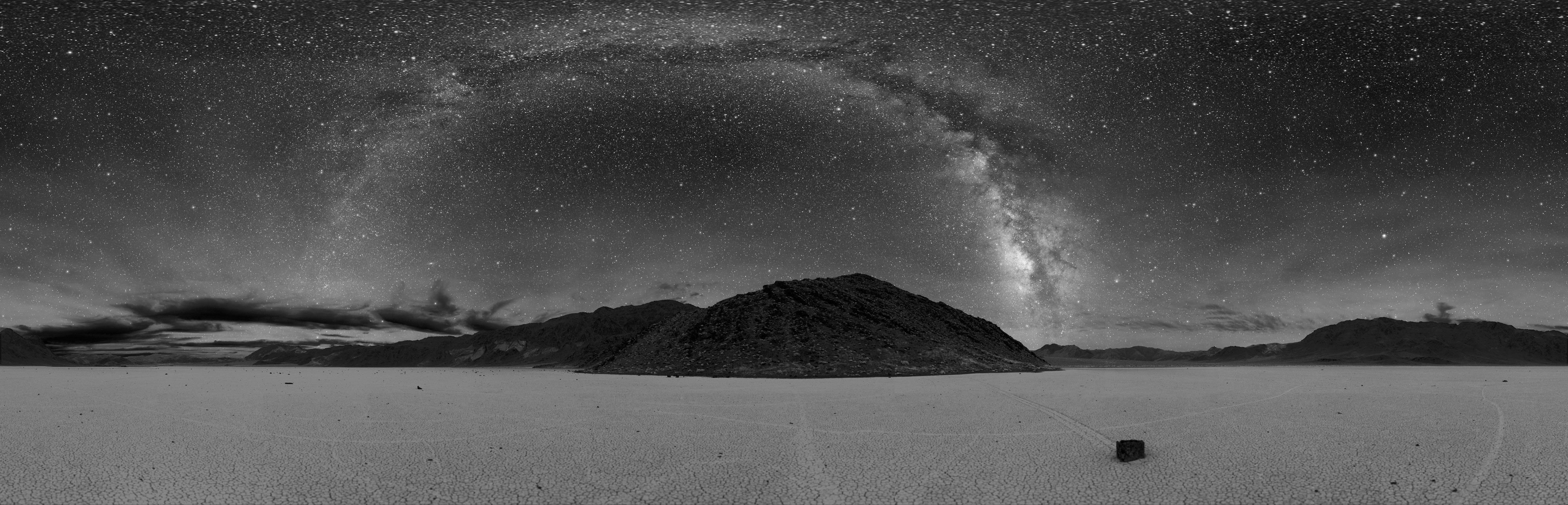 Death Valley View of Milky Way Galaxy - Click to Enlarge