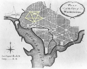 L'Enfant Plan for Washington DC